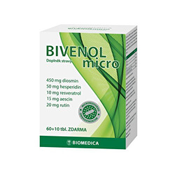 Bivenol micro 60 + 10 tbl.