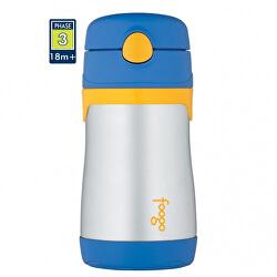 Foogo kojenecká termoska - modrá 290 ml