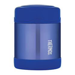 FUNtainer Dětská termoska na jídlo - modrá 290 ml