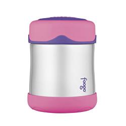 Kojenecká termoska na jídlo - růžová 290 ml