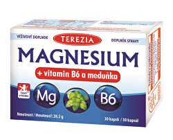 Magnesium + vitamin B6 a meduňka 30 kapslí