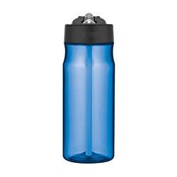 Sport Hidrációs palack szalmával - világos kék 530 ml