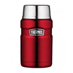 Stílus Thermos egy csésze ételhez - piros 710 ml