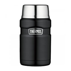 Stílus Thermos egy csésze matt fekete 710 ml-es ételhez