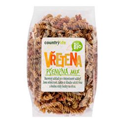 Cestoviny vretená pšeničná mix BIO 400 g