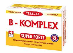 Vitamín B Super Forte + 100 tablet