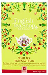 Bílý čaj s tropickým ovocem 20 sáčků