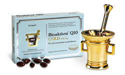 Bioaktivní Q10 GOLD 100 mg 60 pastilek