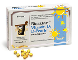 Bioaktivní Vitamin D3 D-Pearls 80 tobolek