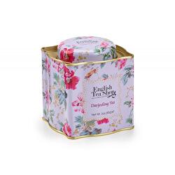 Darčekový sypaný čaj Darjeeling BIO v plechovej dóze 85 g