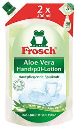 EKO Prostriedok na umývanie riadu Aloe Vera - náhradná náplň 800 ml