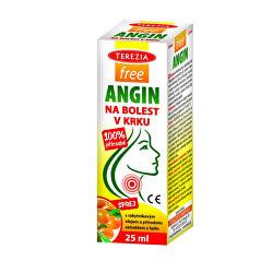 FreeANGIN sprej na bolesť v krku 25 ml