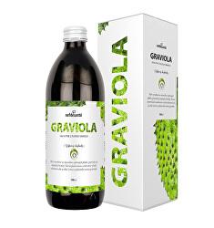 Graviola - 100% pasterizované pyré z plodov gravioly 500 ml