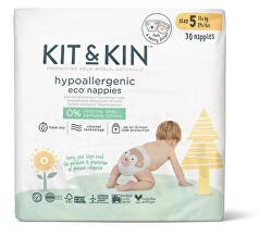 Kit & Kin eko plienky, veľkosť 5 (30 ks), 11 kg +