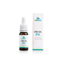 Konopný olej 6% CBD 10 ml