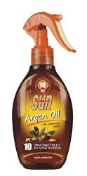 Opaľovací olej s arganovým olejom OF 10 rozprašovacia 200 ml