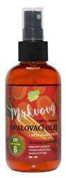Prírodný opaľovací mrkvový olej OF 6 150 ml