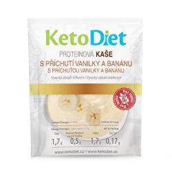 Proteínová kaša s príchuťou vanilky a banánu 7 x 27 g