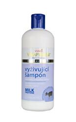 Vyživující šampon na vlasy s extrakty z kozího mléka 400 ml