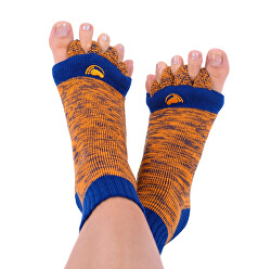 Adjustačné ponožky ORANGE / BLUE