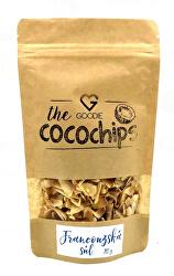 Kokosové chipsy BIO - Francúzska morská soľ 70 g
