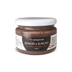 Kokosový krém s kakaem