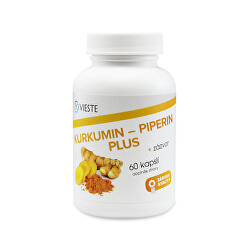 Kurkumín - piperín plus 60 tablet