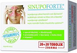 SINUPO Forte 20 + 20 tobolek
