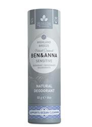 Tuhý deodorant Sensitive BIO 60 g - Horský vánek