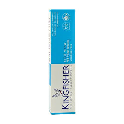 Kingfisher Aloe fogkrém, teafa és édeskömény 100 ml