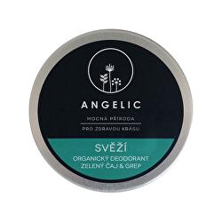 Angelic Svěží organický deodorant zelený čaj & grep 50 ml