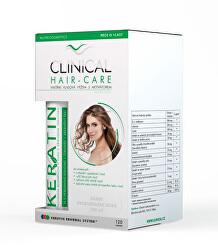 Clinical Hair-Care 120 tobolek + keratin 100 ml - kúra na 4 měsíce