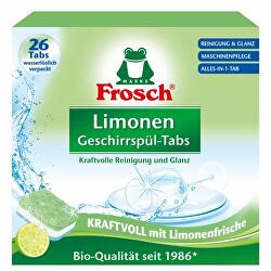 Frosch EKO mosogatógép tabletta, összesen 1 citrommal 26 tabletta