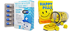 Happy Pills 75 tabliet + Happy Imun 30 tabliet zvýhodnené balenie