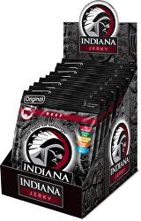 Indiana Jerky beef (hovězí) Original 250 g - display