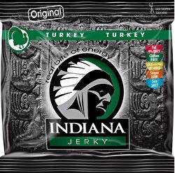 Indiana Jerky turkey (krůtí) Original 60 g