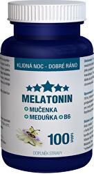 Melatonín Mučenka Medovka B6 100 tablet