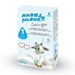 Naše mléko - 1 počát. výživa z kozího mléka 0-6m 525 g