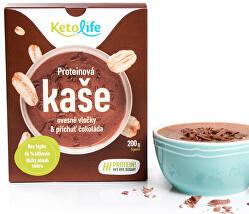 Proteínová kaša - Ovsené vločky a príchuť čokoláda 5 x 40 g