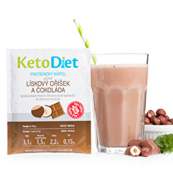 Proteínový nápoj príchuť lieskový oriešok a čokoláda 7 porcií