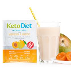 Proteinový nápoj příchuť meruňka a mango 7 porcí