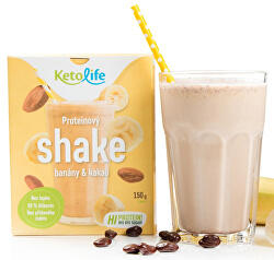 Proteinový shake - Banány a kakao 5 x 30 g
