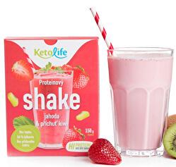 Proteínový shake - Jahoda a príchuť kivi 5 x 30 g