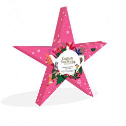 Dárková sada Hvězda růžová BIO 6 pyramidek