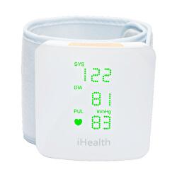 VIEW BP7s chytrý zápěstní měřič krevního tlaku