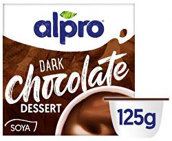 Sójový dezert s příchutí tmavé čokolády 125 g
