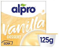 Sójový dezert s příchutí vanilky 125 g