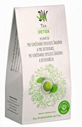 BW Tea Detox - Bylinný čaj pro detoxikaci organismu a udržování kyselosti žaludku 20 sáčků
