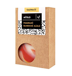 Caltha szappan narancs és shea vaj 100 g