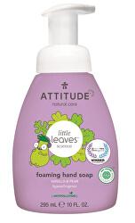 Dětské pěnivé mýdlo na ruce Little Leaves s vůní vanilky a hrušky 295 ml